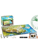 4D Cityscape Imperial China National Geographic Jigsaw Puzzle