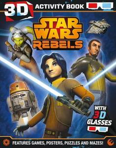 Star Wars Rebels 3D Activity Book