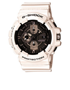 Casio GAC-100GW G-Shock White Analog Watch