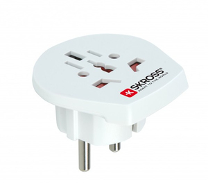 SKROSS WORLD TO EUROPE SINGLE TRAVEL ADAPTER
