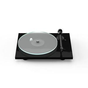 Pro-Ject T1 BT New Generation Audiophile Entry Level Turntable With Phono Preamp And Bluetooth Streaming High-Gloss Black