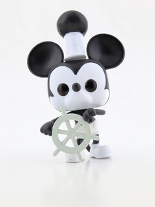 Funko Pop Mickeys 90Th Steamboat Willie Vinyl Figure