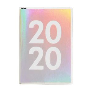 kikki.K 2020 A7 Cute Weekly Diary Be Kind Holographic