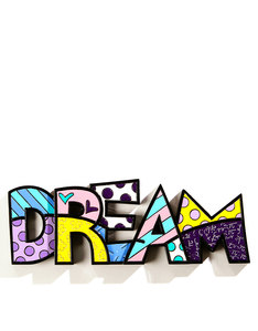 Romero Britto Words Dream