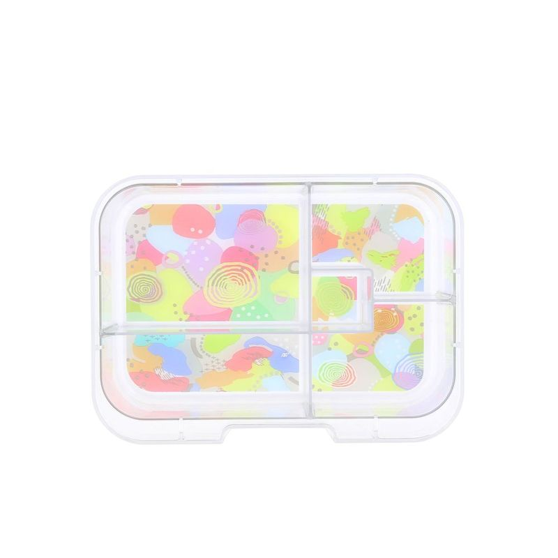 Munchbox Sparkle Aqua Midi5 Artwork Tray Aqua Lunchbox