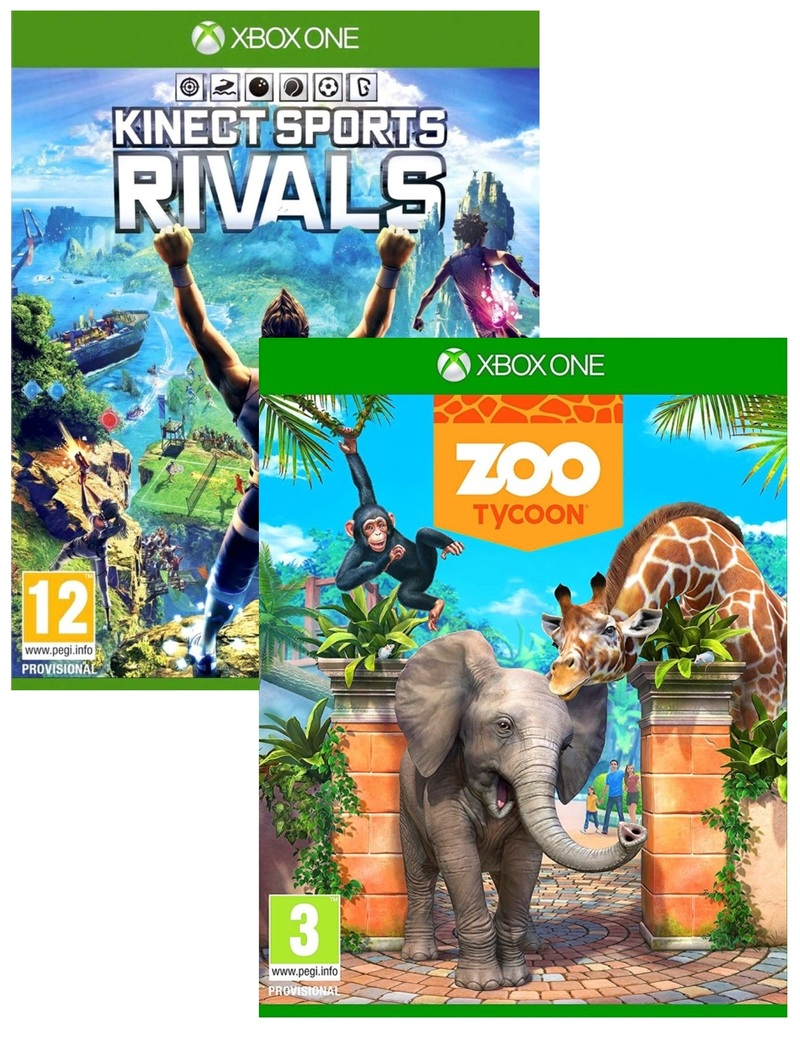Kinect Sports Rivals + Zoo Tycoon [Bundle]