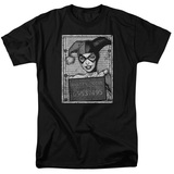 Batman Harley Inmate-S S Men's 18 1 Black