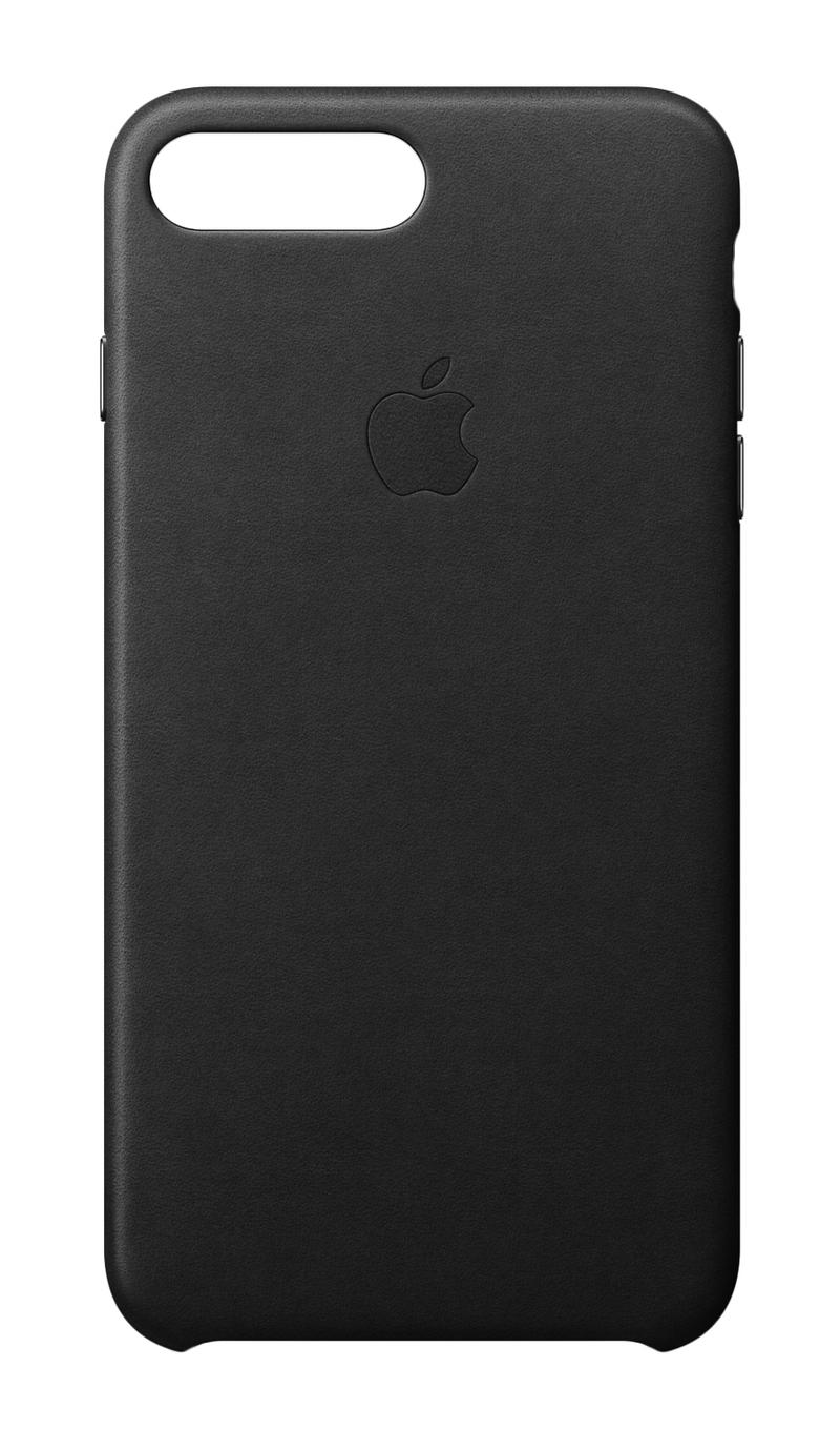 Apple leather case black for iphone 8 plus 7 plus