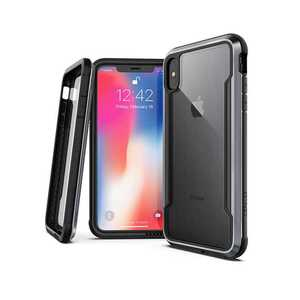 X-Doria Defense Clear Case Black for iPhone XS Max