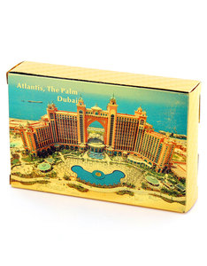 Atlantis Gold Foil Plated Playing Cards