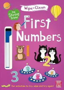 First Numbers: Wipe-Clean Book with Pen