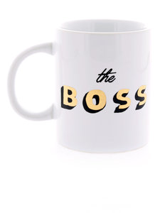 Ban.do Hot Stuff Ceramic Mug The Boss