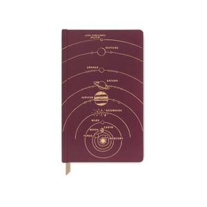 Designworks Classic Bookbound Cloth Planner Journals Solar System
