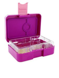 Yumbox Bijoux Purple Mini Snack Lunch Kit