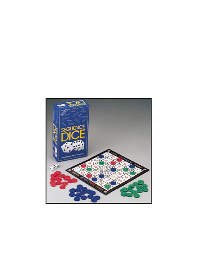 Jax Sequence Dice Board Game