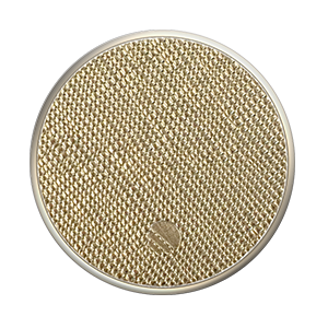 POPSOCKETS SAFFIANO GOLD/GREY/GREY STAND & GRIP
