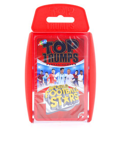 TOP TRUMPS WORLD FOOTBALL STARS CARD GAME ENGLISH & ARABIC