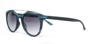 Eleven Miami/ Fashion Sunglasses Round Frame W/ Bar Unisex Black/Blue/Brown/Green