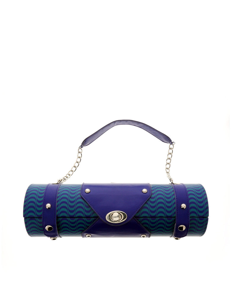 Bottle Carrier Blue Wave Zebra