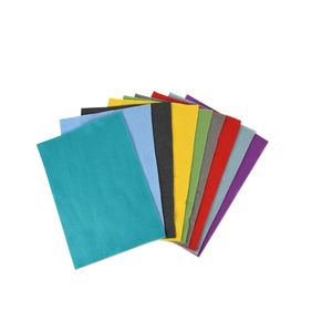 Sizzix Accessory Felt Sheets Bold [Pack of 10 Colours]