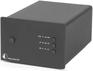 Pro-Ject Phono Box DS Wired Black Audio Amplifier