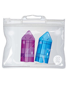 GoGoPo Triangle Eraser & Sharpener [2 Pack]