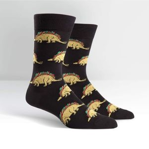 Sock It To Me Men's Crew Tacosaurus Socks