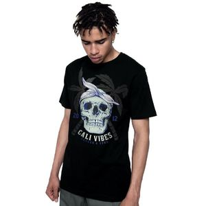 Cayler & Sons Wl Cali Skull Men's T-Shirts Black