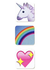 iDecoz Unicorn Emoji SwipeWipes for Smartphones