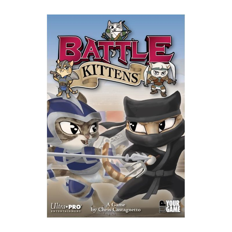 Battle Kittens Boardgame