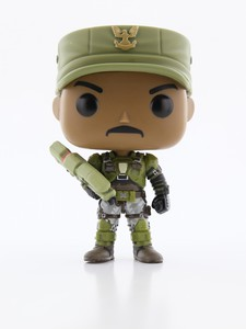 Funko Pop Halo S1 Sgt. Johnson Vinyl Figure