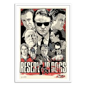 Reservoir Dogs Art Poster by Joshua Budich [50 x 70 cm]