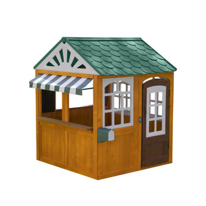 Kidkraft Garden View Outdoor Wooden Playhouse