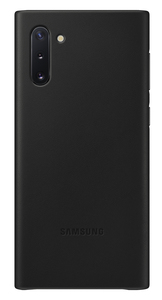 Samsung Leather Cover Black for Galaxy Note 10