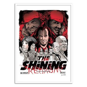 The Shining Art Poster by Joshua Budich [30 x 40 cm]