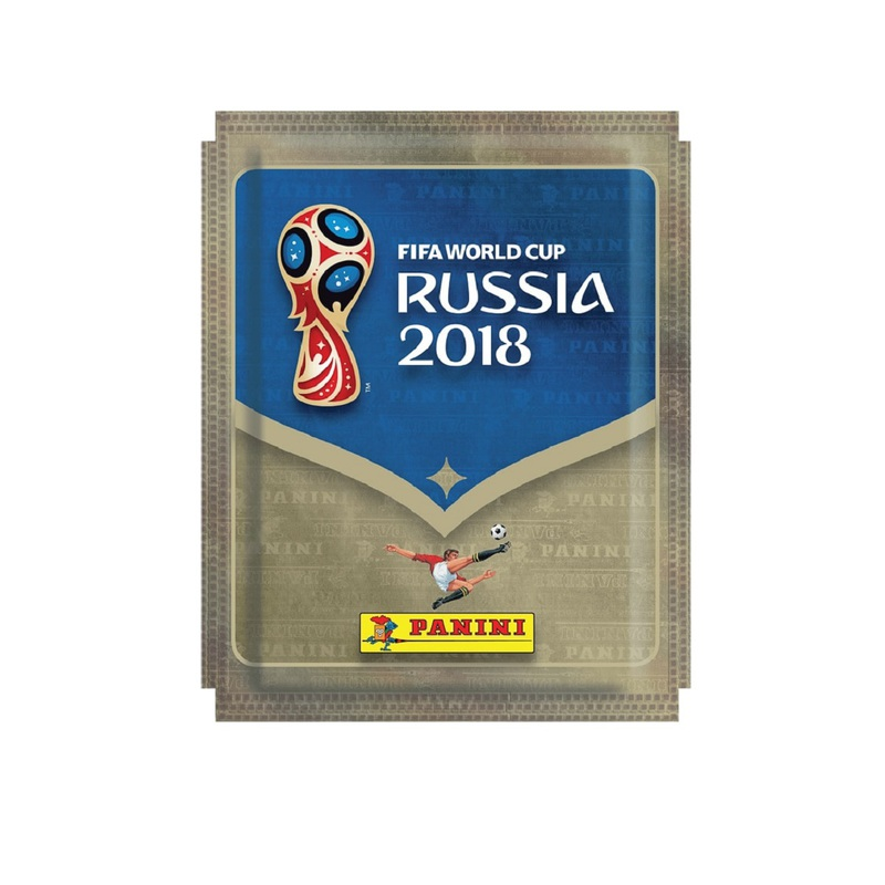 Panini FIFA Wolrd Cup 2018 Russia Sticker Pack