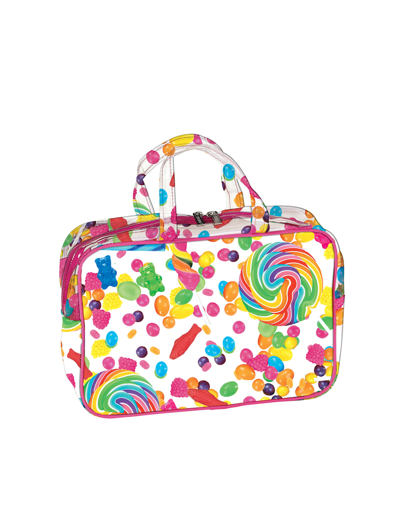 Iscream Candy Collage Large Cosmetic Bag