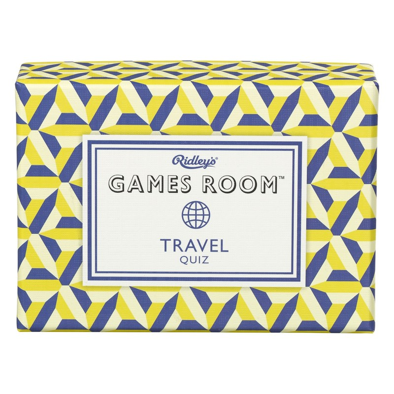 Ridley's Games Room Travel Quiz