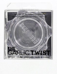 Nextrend Garlic Twist Mincer Clear