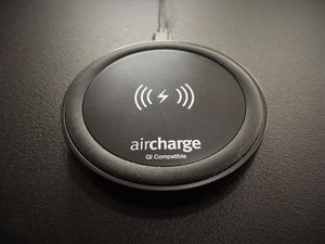 Aircharge Travel Pad Black Wireless Charger