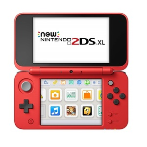 Nintendo 2DS XL Pokeball Edition + 3 Games