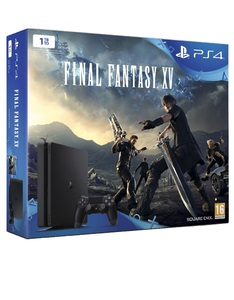 Sony PlayStation 4 1TB Slim Jet Black +Final Fantasy XV [Bundle]
