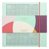 Colour By Numbers Mesh Notebook Mint