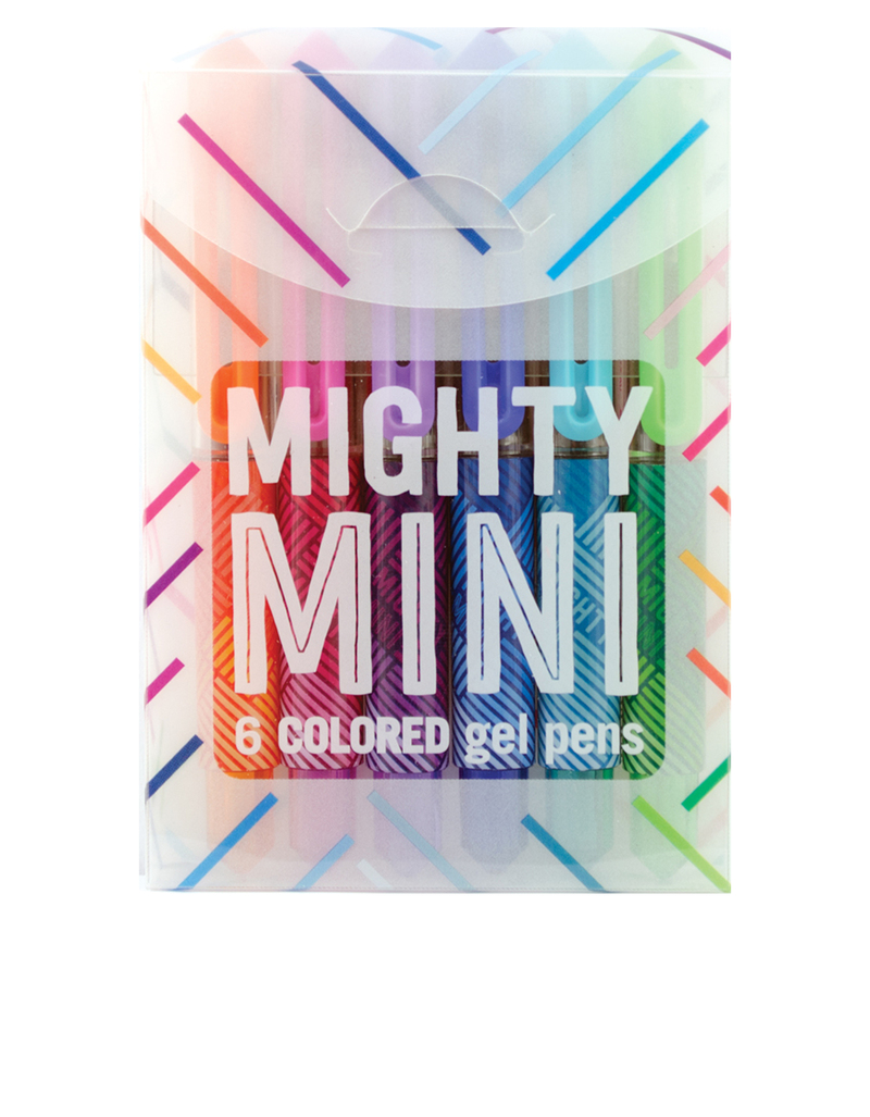 International Arrivals Mighty Mini Gel Pens [Set of 6]