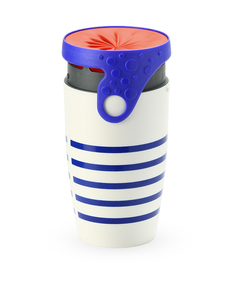 Twizz Neolid Travel Mug Marcel White/Blue/Red