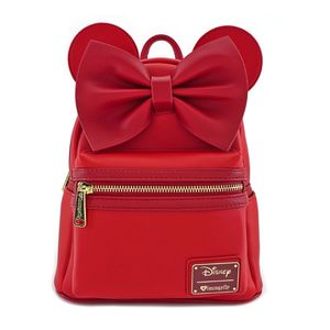 Loungefly Disney Red Minnie Ears Mini Backpack