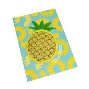 Happy Zoo Pineapple Notebook Perfect Bound