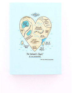 Ohh Deer Introvert's Heart Journal