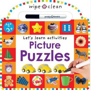 Wipe Clean Learning Picture Puzzles