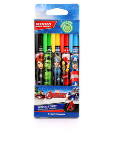 Scentco Avengers Sketch & Sniff Gel Crayons [Set Of 5]